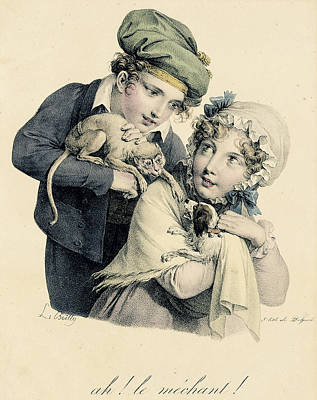 Boilly Lithographed Art Print