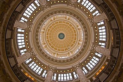 Photograph - Boise Capital Dome by Robert Brusca