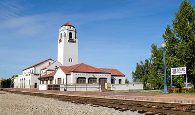 Photograph - Boise Depot-elevation 2753 by Shanna Hyatt