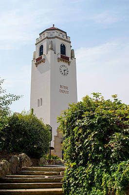 Photograph - Boise Depot Tower by Shanna Hyatt