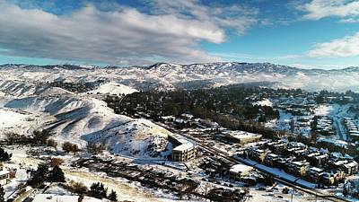 Northend Photograph - Boise Foothills by Andrew Chapa