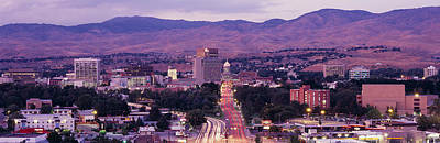 Boise Id Art Print by Panoramic Images