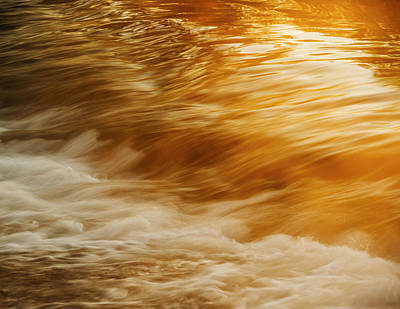 Photograph - Boise River Golden Flow In Boise Idaho Usa by Vishwanath Bhat