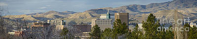Photograph - Boise Skyline by Idaho Scenic Images Linda Lantzy