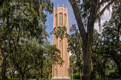 Photograph - Bok Tower - The Singing Tower At Bok Tower Gardens  -  Boktow973a1 by Frank J Benz