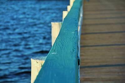 Photograph - Bokeelia's Blue Board by Michiale Schneider