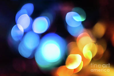 Photograph - Bokeh Background by Benny Marty