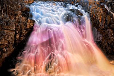 Photograph - Bokeh Fantasy Falls by Nicolas Raymond