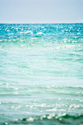 Bokeh Photograph - Bokeh In The Waves by Shelby  Young
