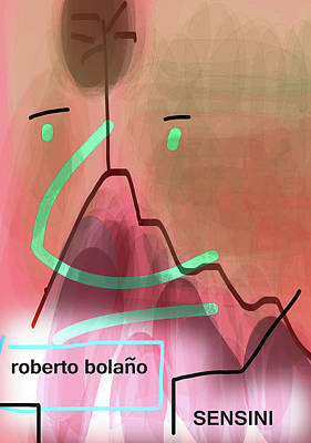 Bolano Sensini Poster  Art Print