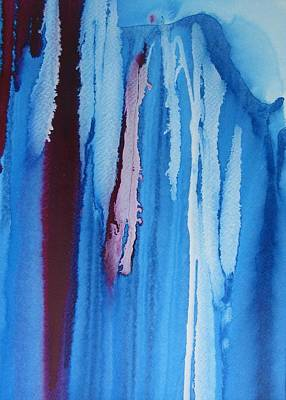 Drippy Painting - Bold And Drippy Three by Louise Adams