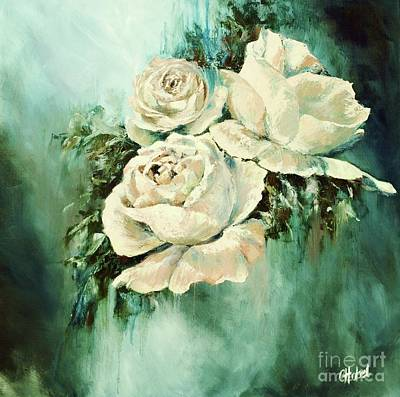 Painting - Bold Blooms by Chris Hobel