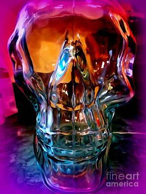 Digital Art - Bold Bone Structure by Ed Weidman