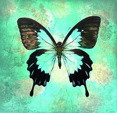 Painting - Bold Butterfly by Tina LeCour