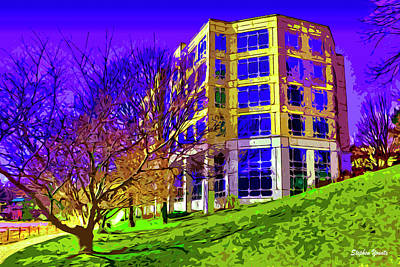 Howard County Digital Art - Bold Facade by Stephen Younts