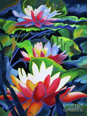 Painting - Bold Lilypads by Kathy Braud