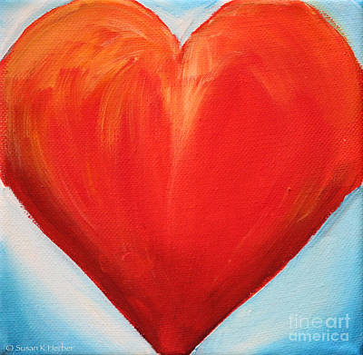 Painting - Boldly by Susan Herber