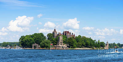 Photograph - Boldt Castle In Thousand Islands, New York by Les Palenik