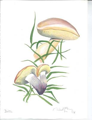 Painting - Boletus by Michael Earney