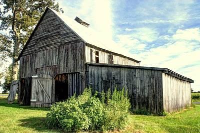 Elkton Photograph - 132 - Boley Barn by Angela Comperry