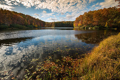 Photograph - Boley Lake Babcock State Park by Rick Dunnuck