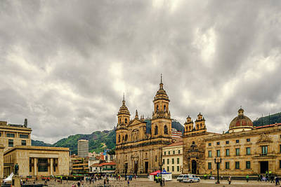 Photograph - Bolivar's Square by Maria Coulson