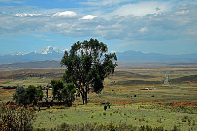Photograph - Bolivian Landscape No. 8 by Sandy Taylor