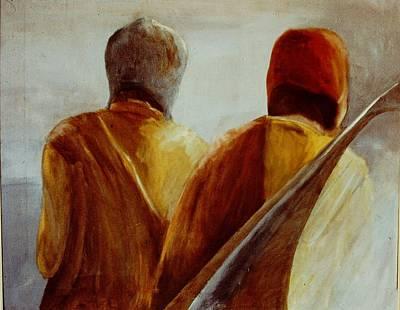 Sling Painting - Bolivian Sling Bag by Eduardo Rimassa