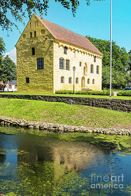 Photograph - Bollerups Castle In Sweden by Antony McAulay