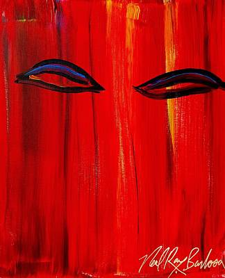 Painting - Bollywood Eyes by Neal Barbosa