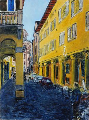 Bologna Galeria Art Print by Joan De Bot