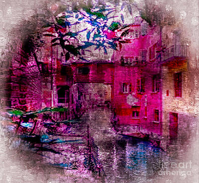Digital Art - Bologna, Italy by Rod Jellison