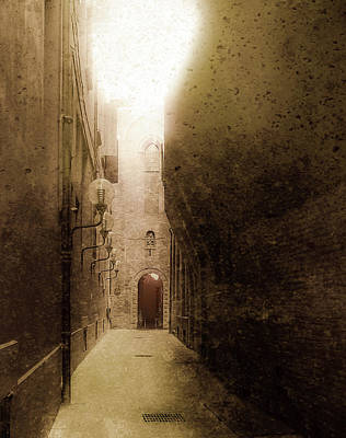 Photograph - Bologna, Italy - Medieval Light by Mark Forte