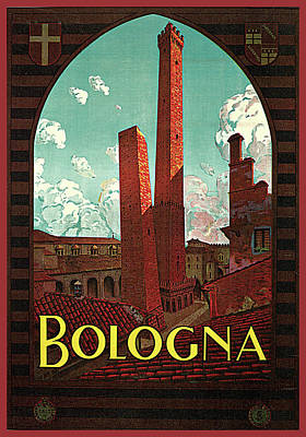 Photograph - Bologna by Severino Trematore