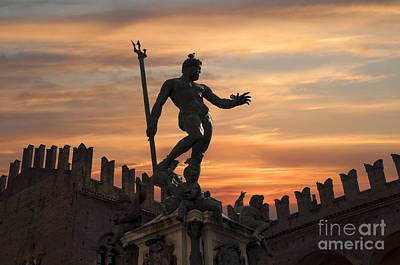 Photograph - Bologna Sunset by Brenda Kean