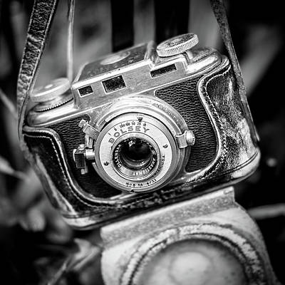 Patina Photograph - Bolsey B Rangefinder Camera by Jon Woodhams