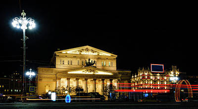 Photograph - Bolshoy Theater by Alexey Stiop