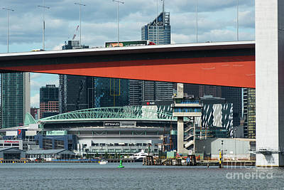 Photograph - Bolte Bridge Over River Yarra by Andrew Michael