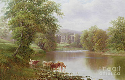 Bolton Abbey Art Print by William Mellor