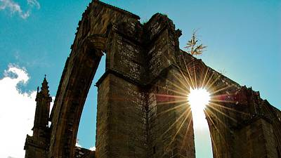 Architecture Digital Art - Bolton Priory by Super Lovely