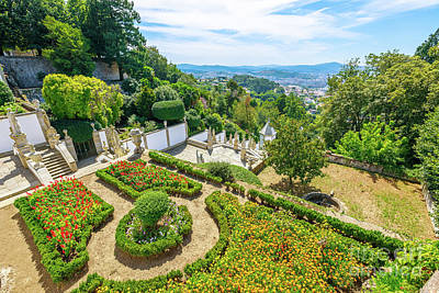 Photograph - Bom Jesus Do Monte Panorama by Benny Marty
