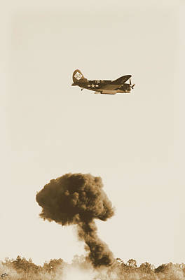 Photograph - Bomb Drop by Karol Livote