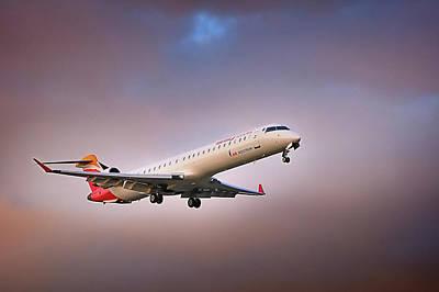 Photograph - Bombardier Crj-900 by Hernan Bua
