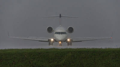 Photograph - Bombardier In Heavy Rain by Guy Whiteley