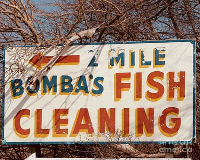 Photograph - Bombas Fish Cleaning  by Michael Krek