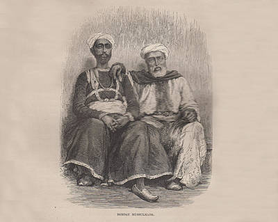 Bombay Mussulmans Original by Angela Lautin