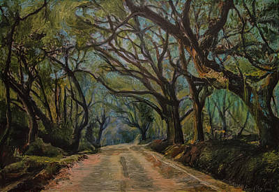 Painting - Bombay Road 2 by Ron Richard Baviello