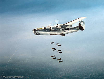 Bombs Away Art Print by Marc Stewart