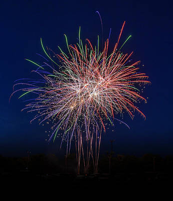 Photograph - Bombs Bursting In Air by Harry B Brown