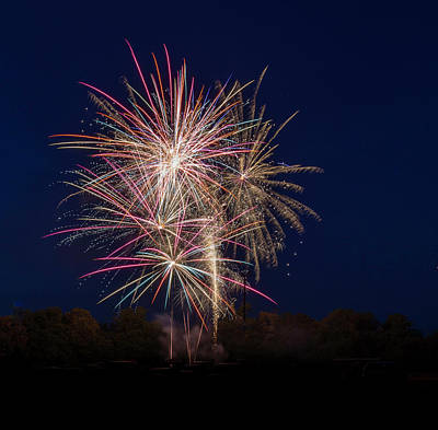 Photograph - Bombs Bursting In Air IIi by Harry B Brown